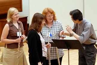 Suzuki flute teachers and Toshio Takahshi