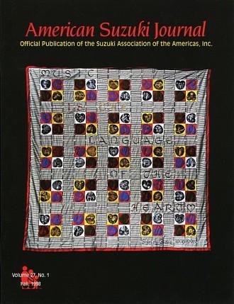 American Suzuki Journal 27.1