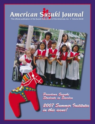 American Suzuki Journal 35.2