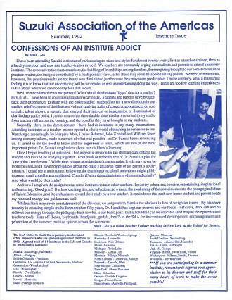 Minijournal 1992