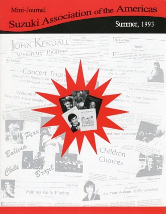 Minijournal 1993