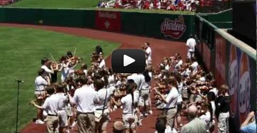 National Anthem Baseball Video
