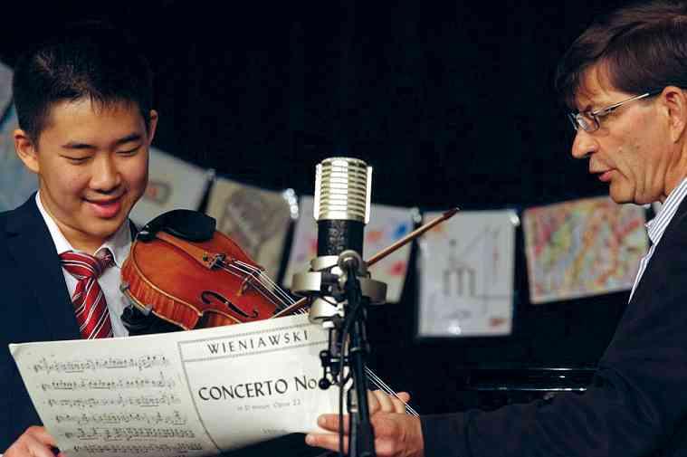 2016 Conference Violin Masterclass