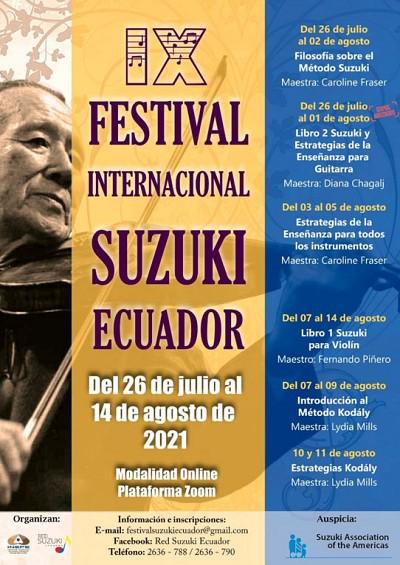 IX Festival Internacional Suzuki Ecuador