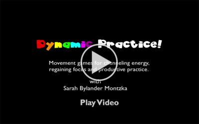 Dynamic Practice Play Video Screen