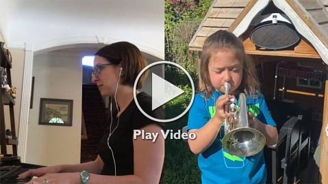 Amazing Grace Trumpet—2020 Social Distance First Img