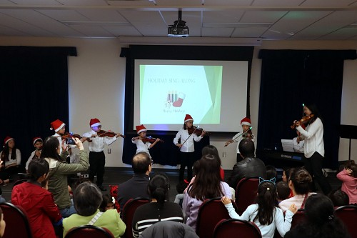 Library Holiday concert