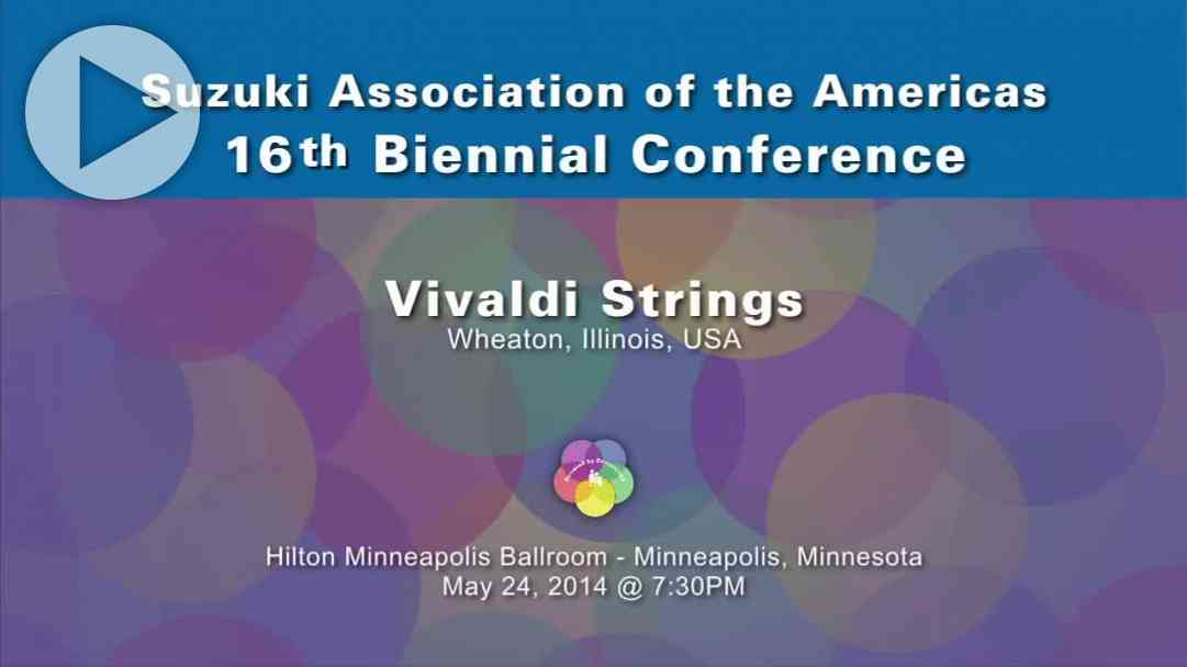 Vivaldi Strings—Conference 2014
