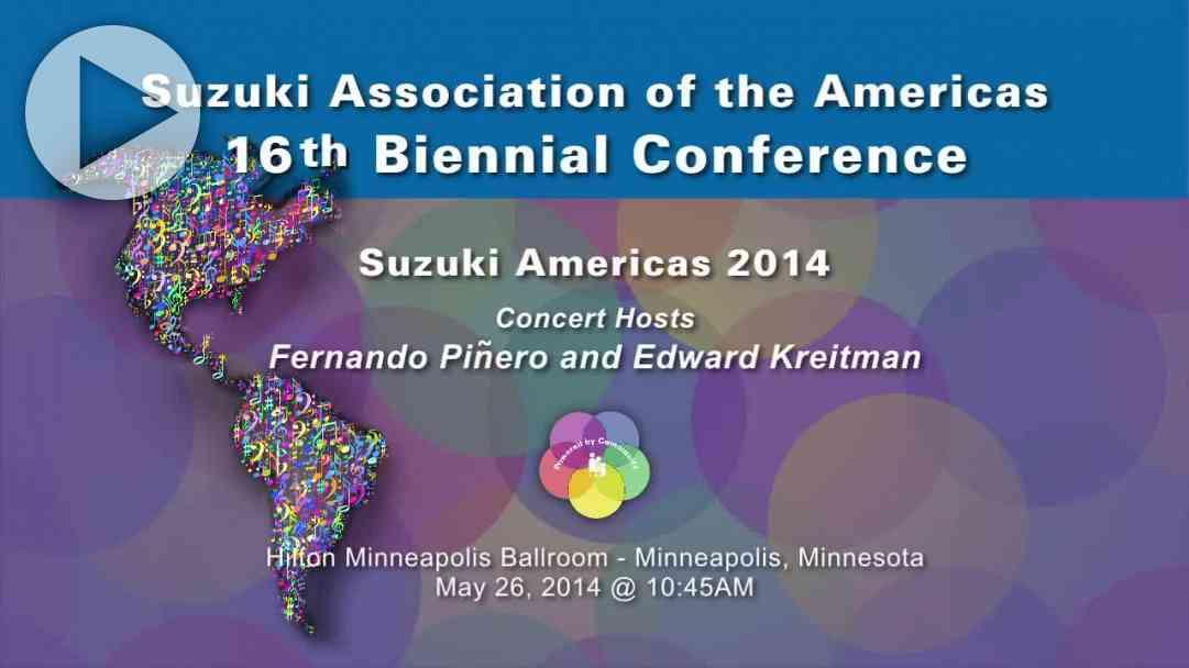 Suzuki Americas—Conference 2014