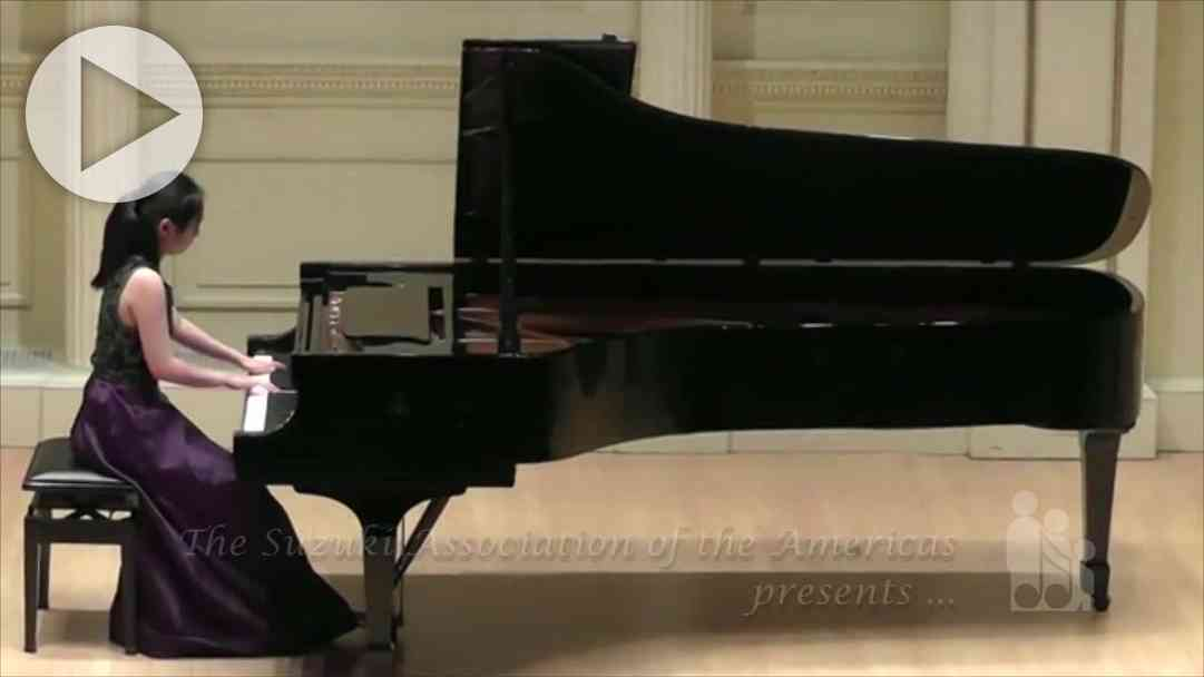 Excellence from the Start—The Suzuki Piano Student's Journey
