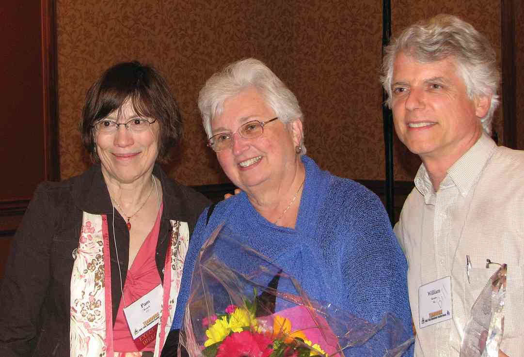 2010 CLC Award recipients: Pam Brasch, Dorothy Jones, Bill Kossler