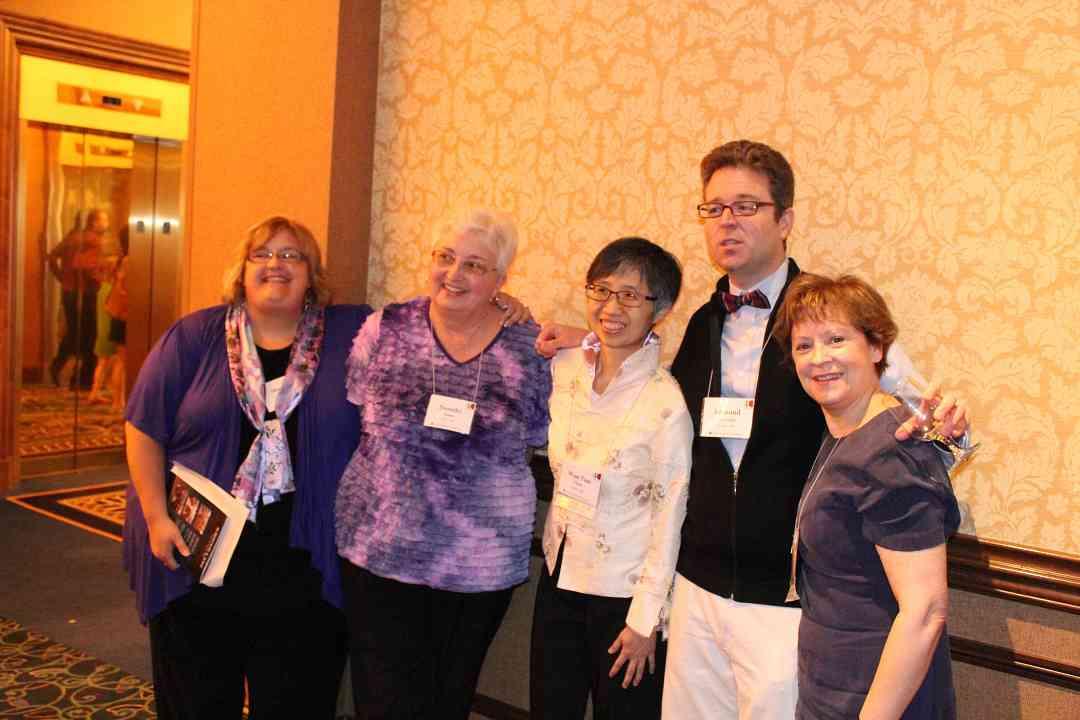Ed Sprunger with ECE teachers