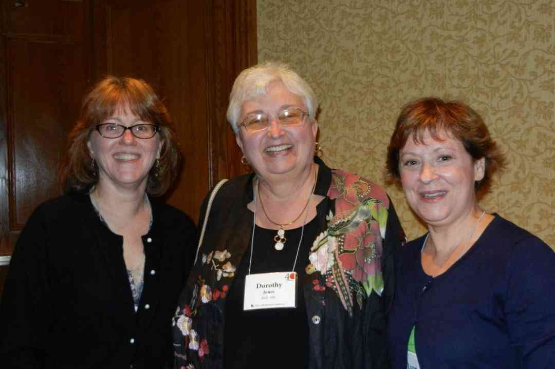 Laura Speno, Dorothy Jones and Lynn McCall at the 2012 Conference