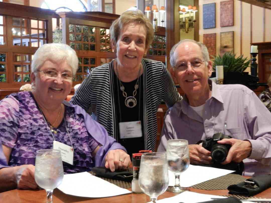 Dorothy Jones, Leena Crothers, and Don Jones at the 2012 Conference