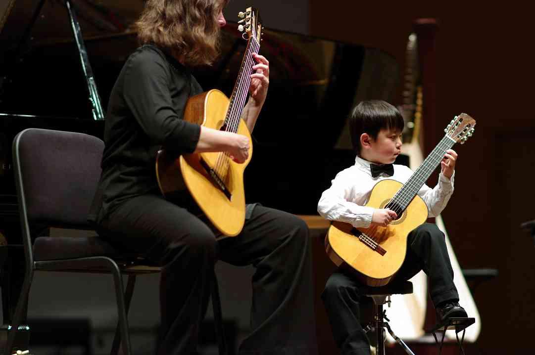 MaryLou Roberts and Shun Nakashima in the Kaleidoscope Concert