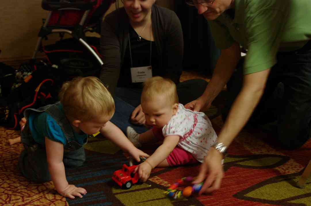 Cute babies at the 2012 Conference