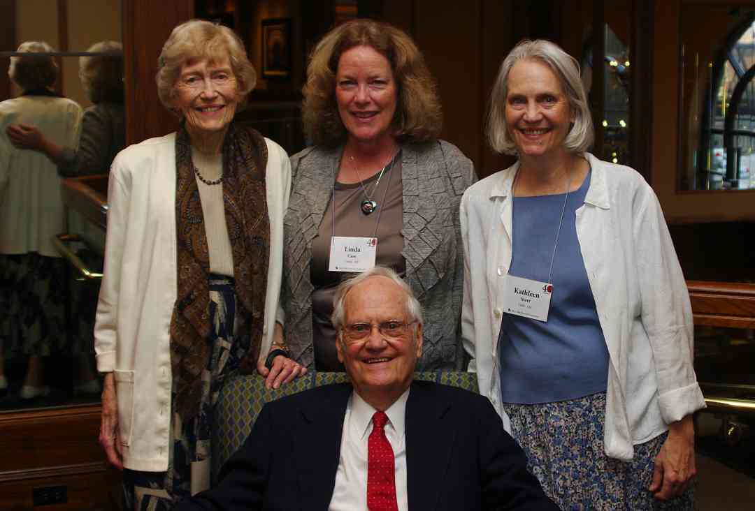 Bill Starr, Constance Starr, Linda Case, and Kathleen Starr at the 2012 Conference