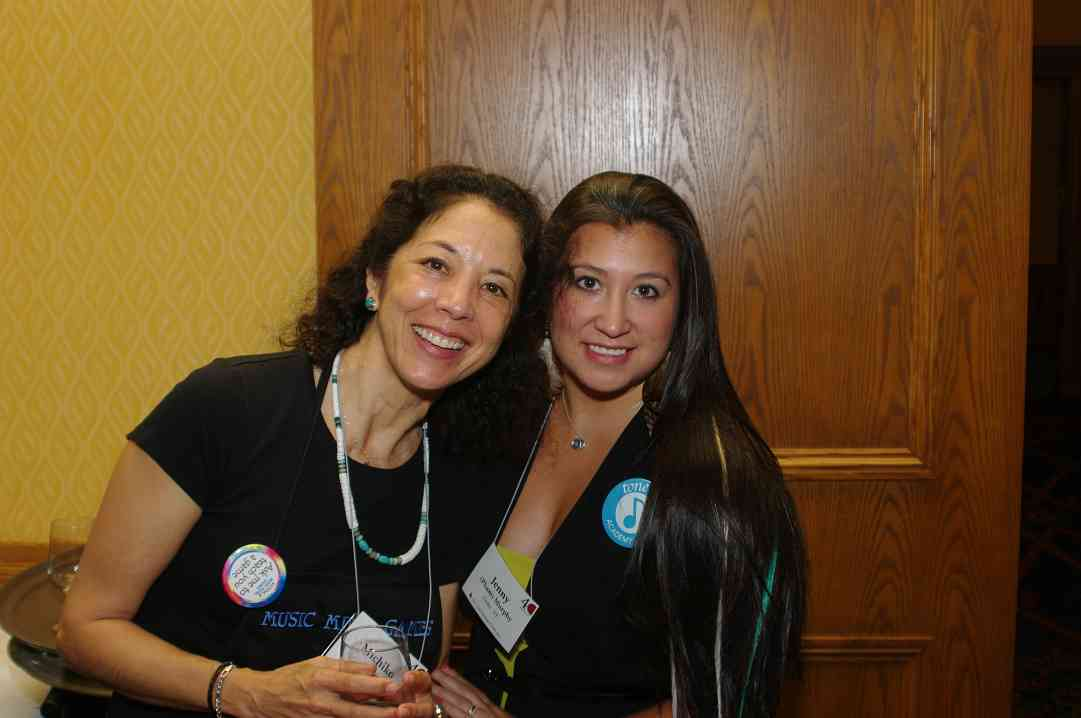 Michiko Yurko and Jenny Murphy at the 2012 Conference