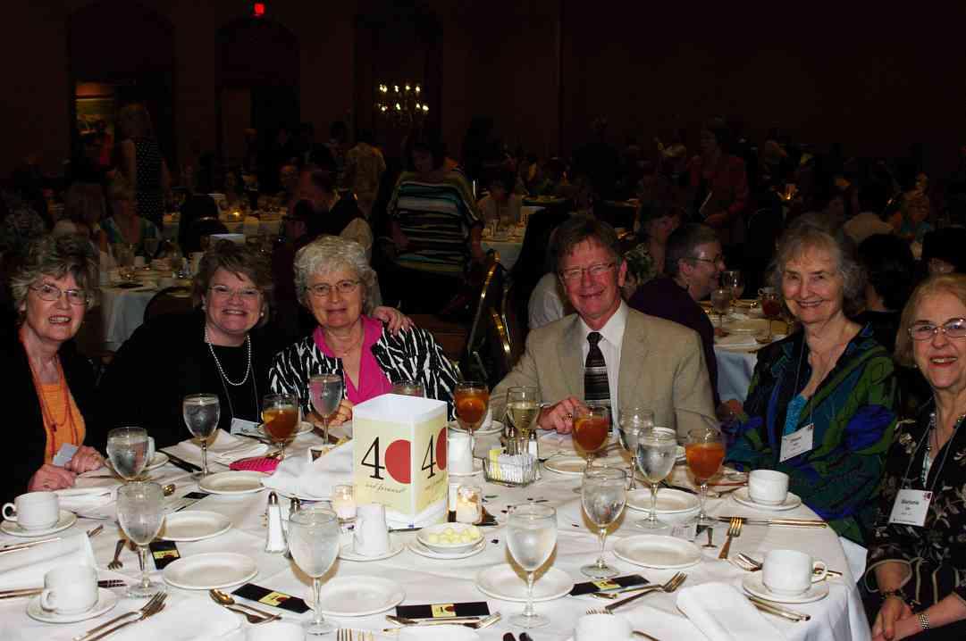 Beth Titterington, Rita Hauck, Diane Egli, Marjorie Lin at the 2012 conference