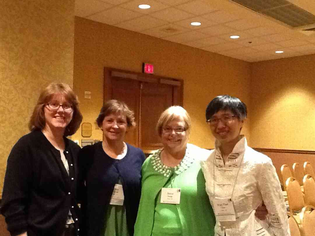 Laura Speno, Lynn McCall, Joyce Hodge, and Wan Tsai Chen at the 2012 Conference