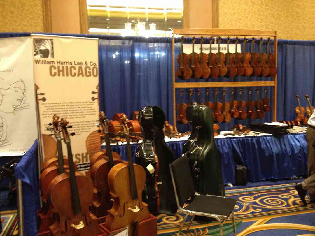 William Harris Lee exhibit booth at the 2012 Conference