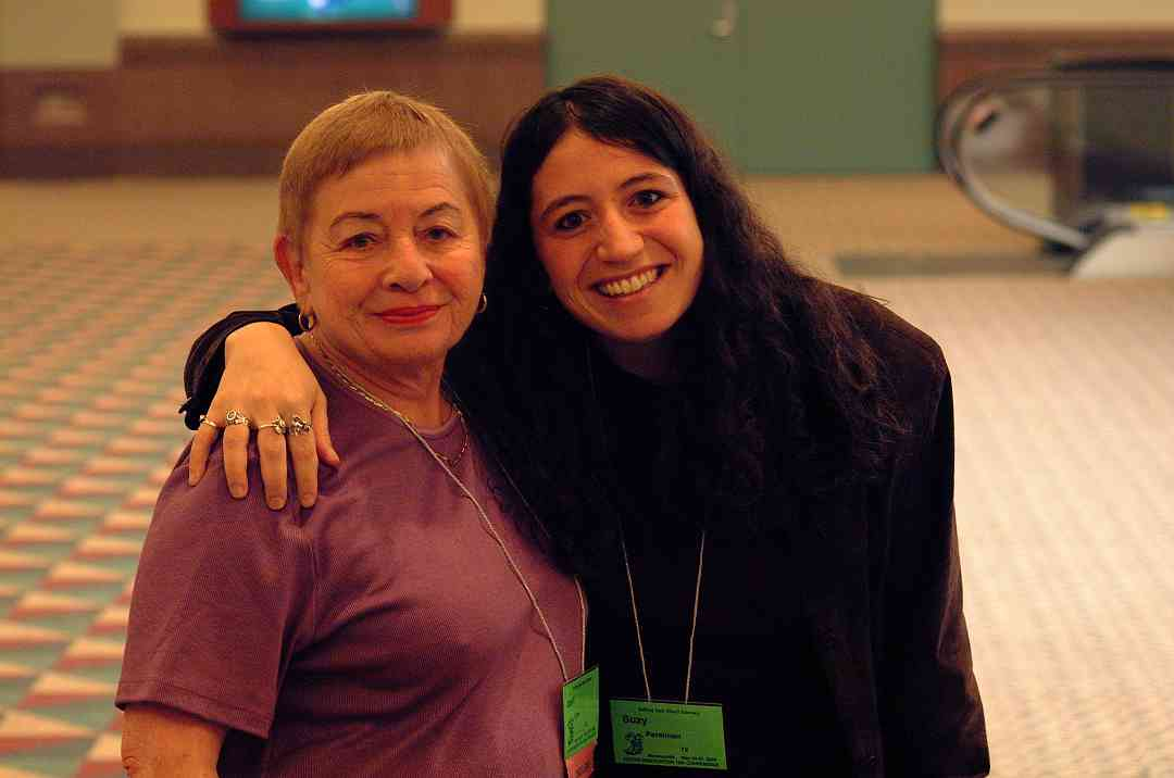 Idell Low and Suzy Perelman at the 2002 SAA Conference