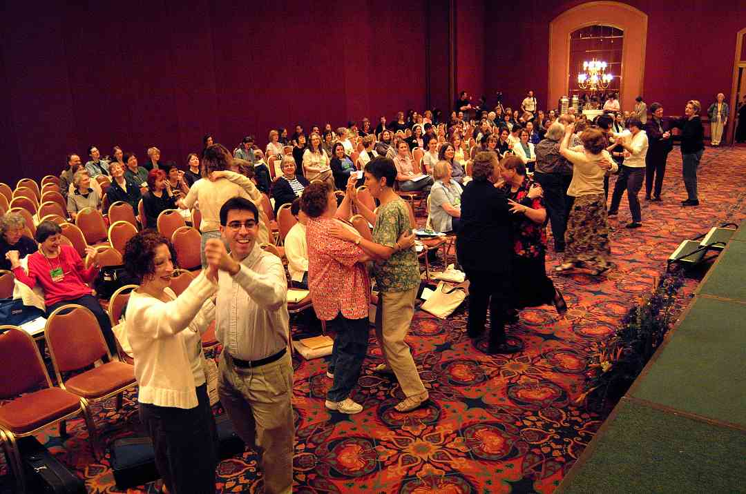 Baroque dance at the 2002 SAA Conference