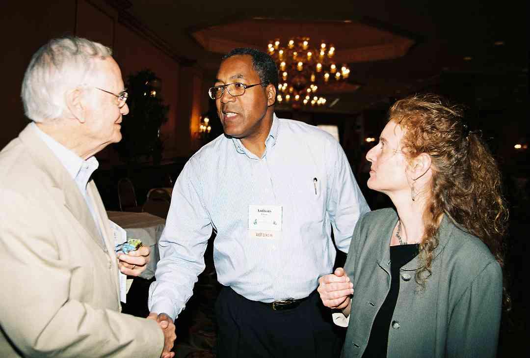 Bill Starr, Anthony Elliott, and Tamara Goldstein.