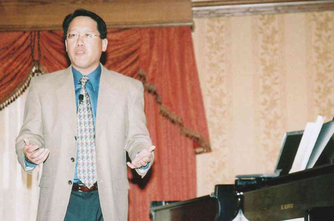 Brian Chung, keynote speaker at the 2006 SAA Conference