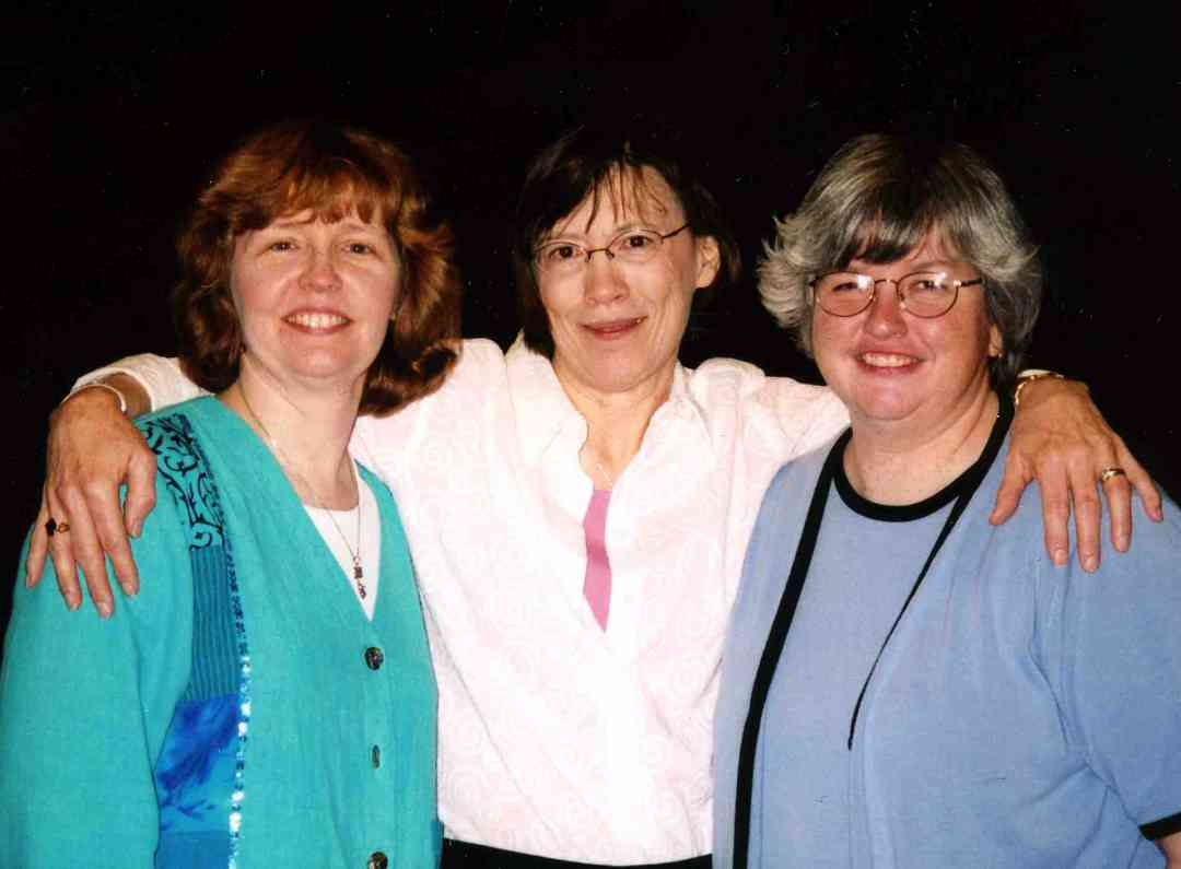 Carol Ourada, Pam Brasch, and Sally Gross