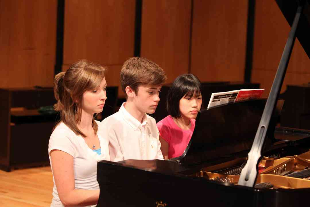 Piano ensemble at Memphis Suzuki Institute