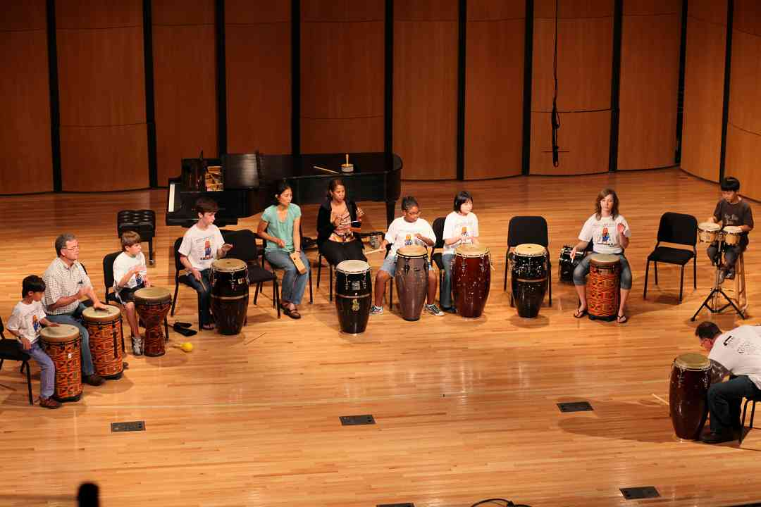 World drumming at Memphis Suzuki Institute