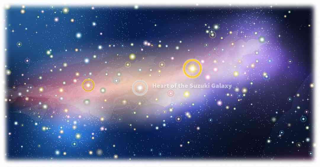 Galaxy Map Large Sample