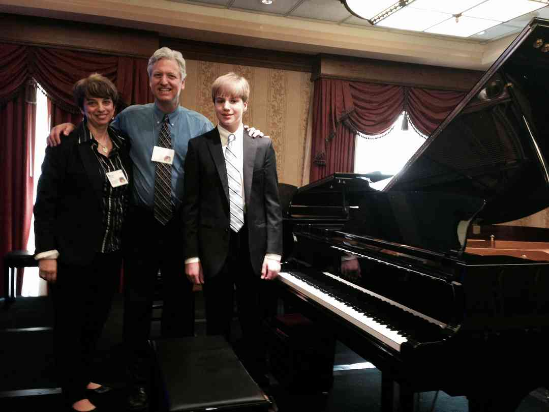 Piano Masterclass with Brian Gantz