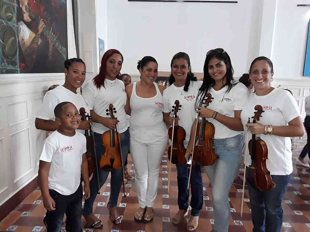 Jacqueline Jardines with Suzuki Teachers