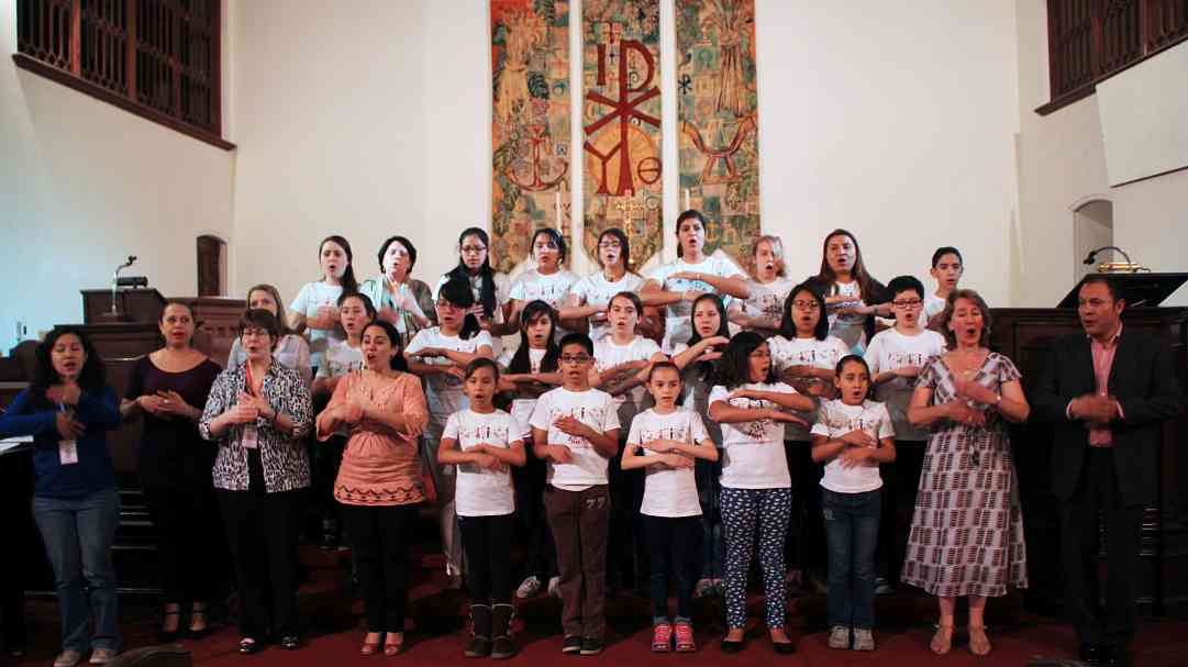 12th International 'Songs for Sharing' Suzuki Voice Workshop in Mexico City, April 2015