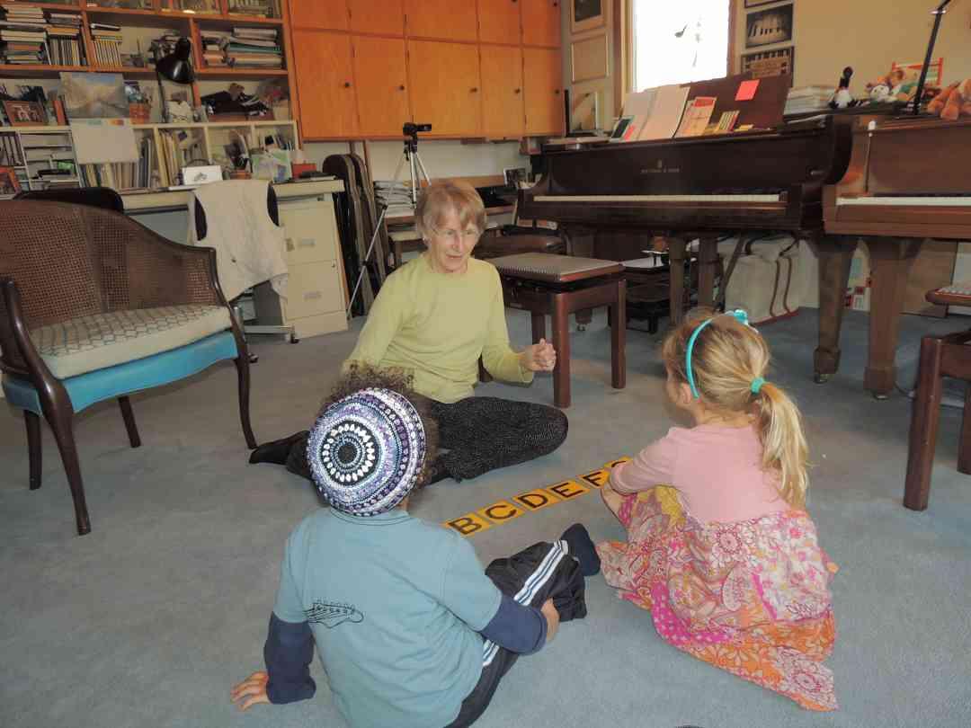Music Alphabet Game