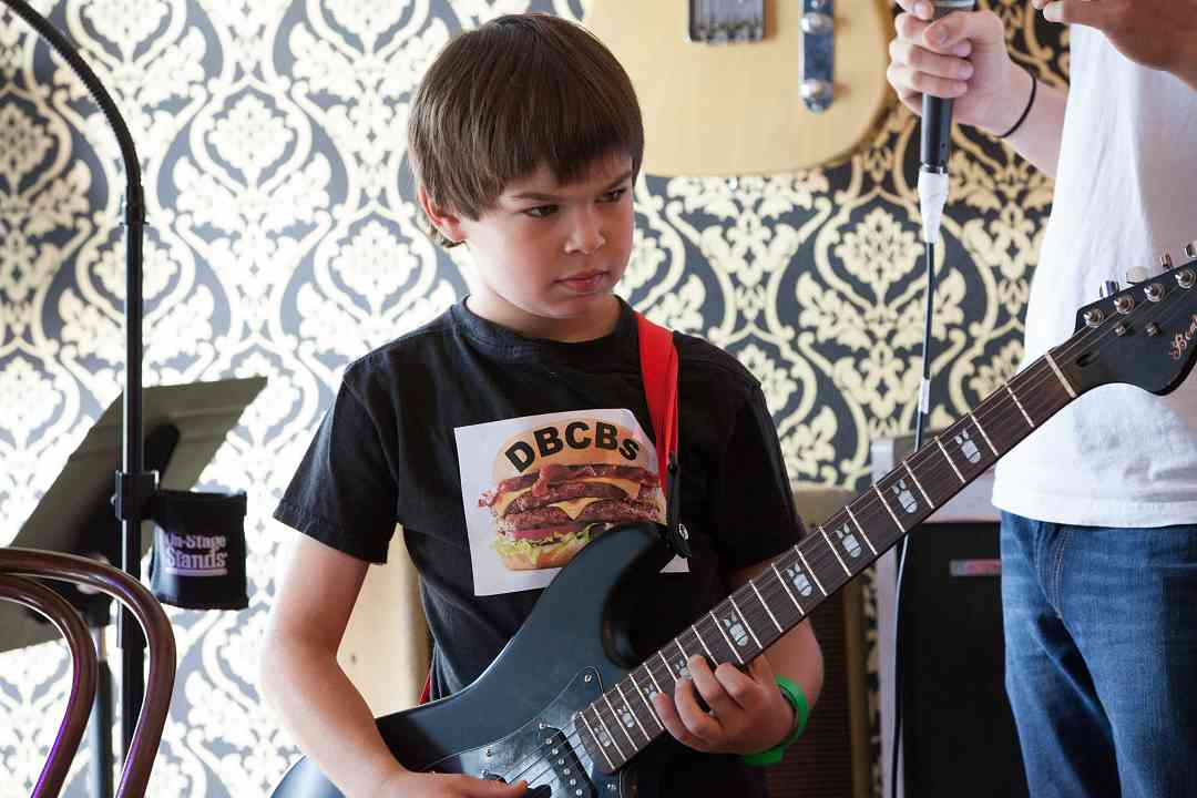 Who Says a Suzuki Kid Can't Rock?