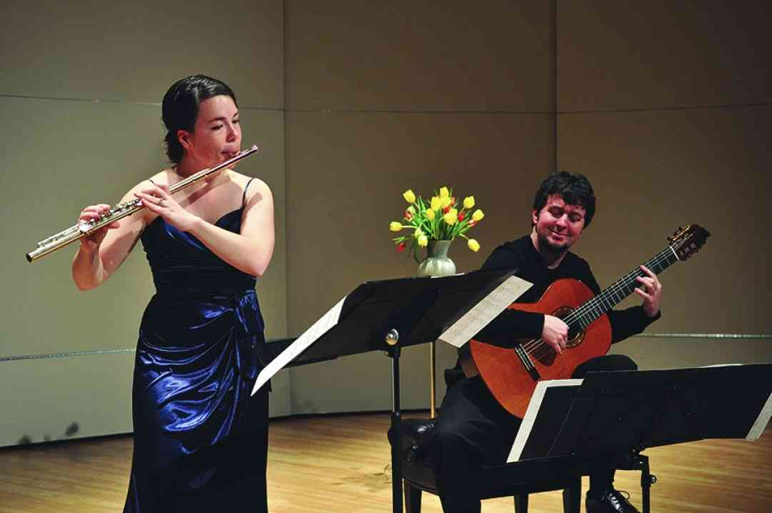 Whitney Kelley and Patrick Sutton in recital at East Tennessee State University