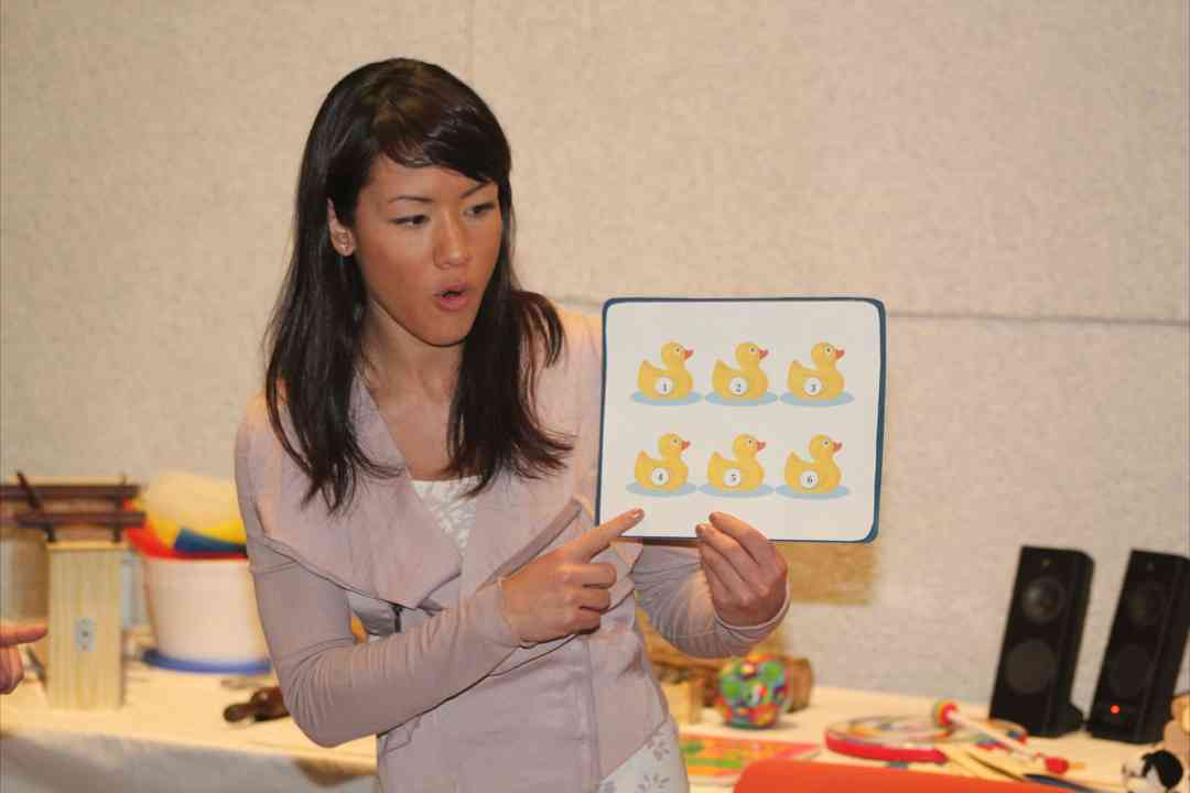 Suzuki Early Childhood Education Baby Class in Austin, TX, January 2012