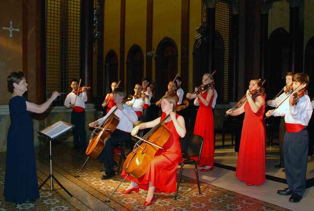 Buffalo Suzuki Strings Friendship Touring Ensemble
