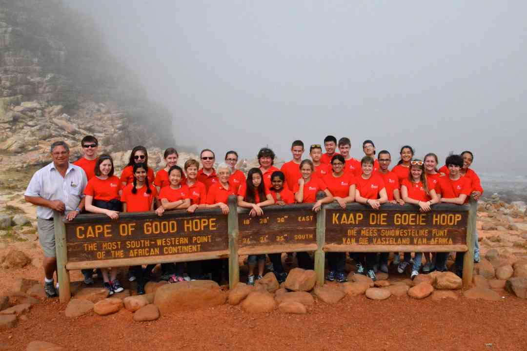 BSS Students at the Cape of Good Hope