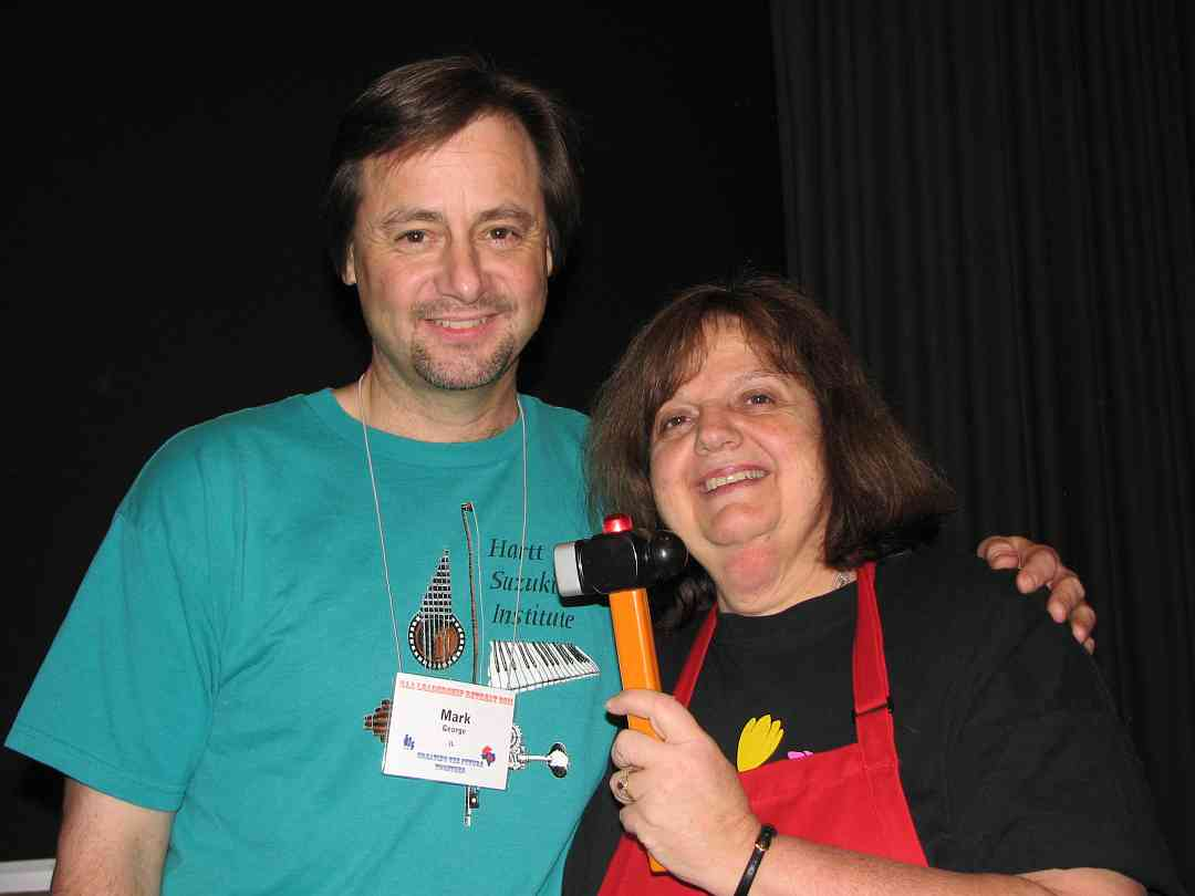 Mark George and Teri Einfeldt at the 2011 Leadership Retreat