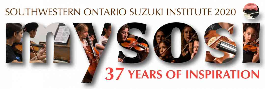 Southwestern Ontario Suzuki Institute Logo 2020