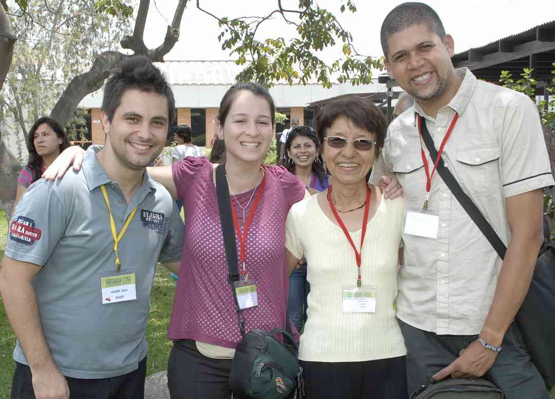Brazil teachers at Peru Festival