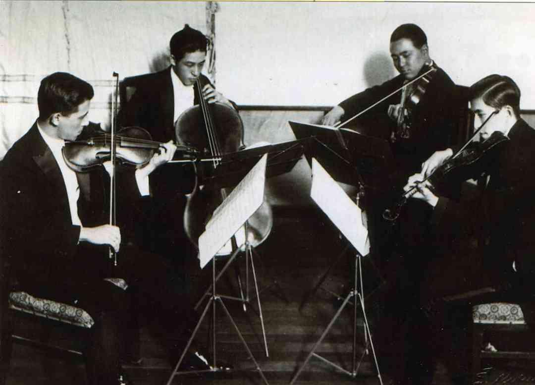 Suzuki String Quartet, four brothers