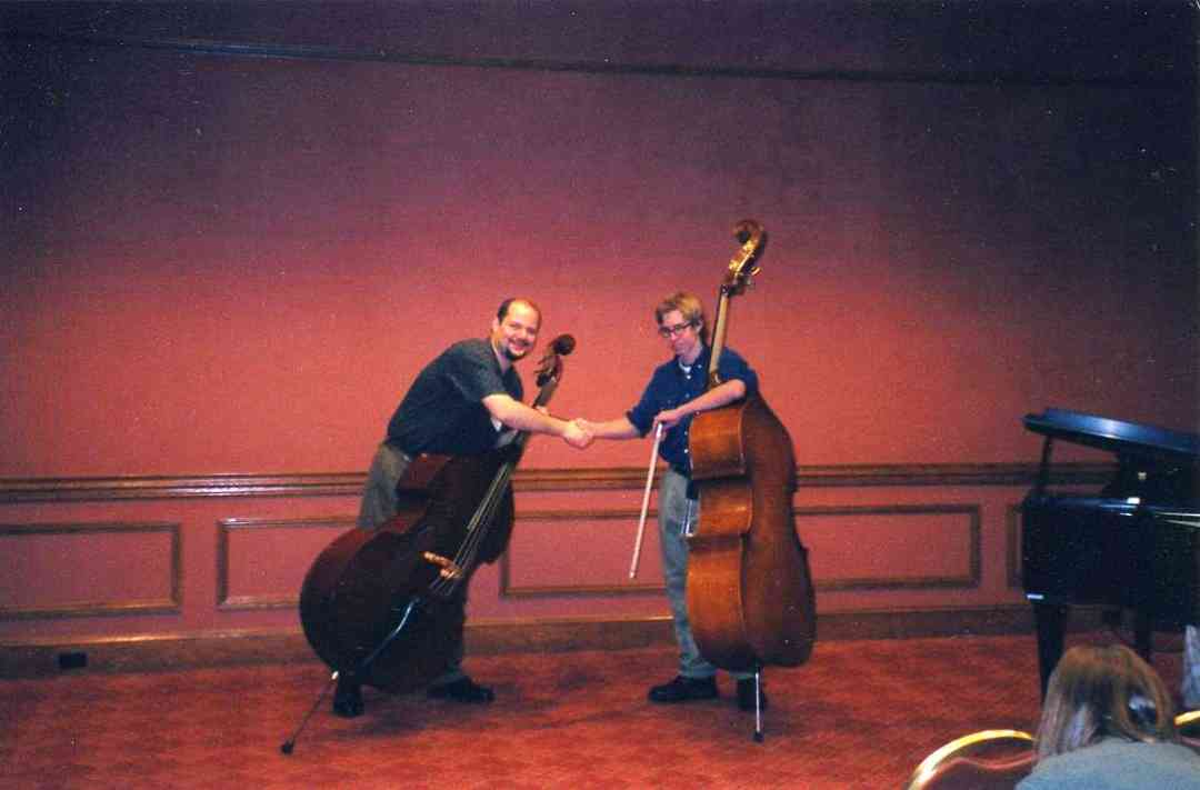 Volkon Orhon and Russ Madsen at a Conference