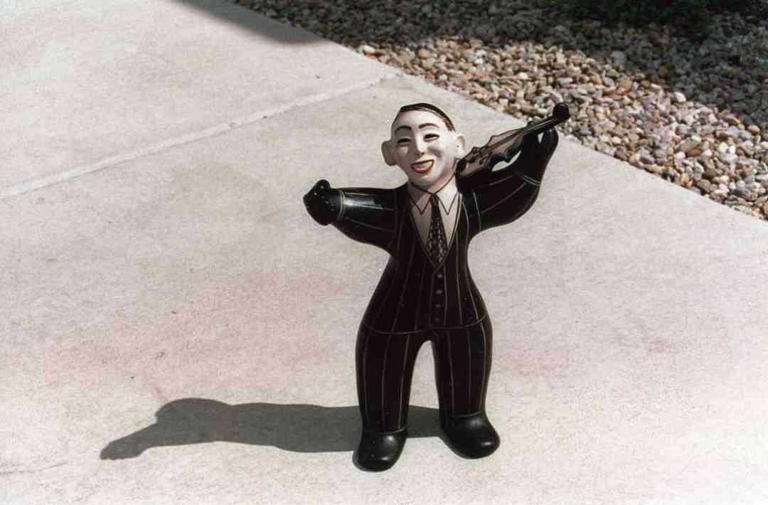 Statue of Dr. Shinichi Suzuki