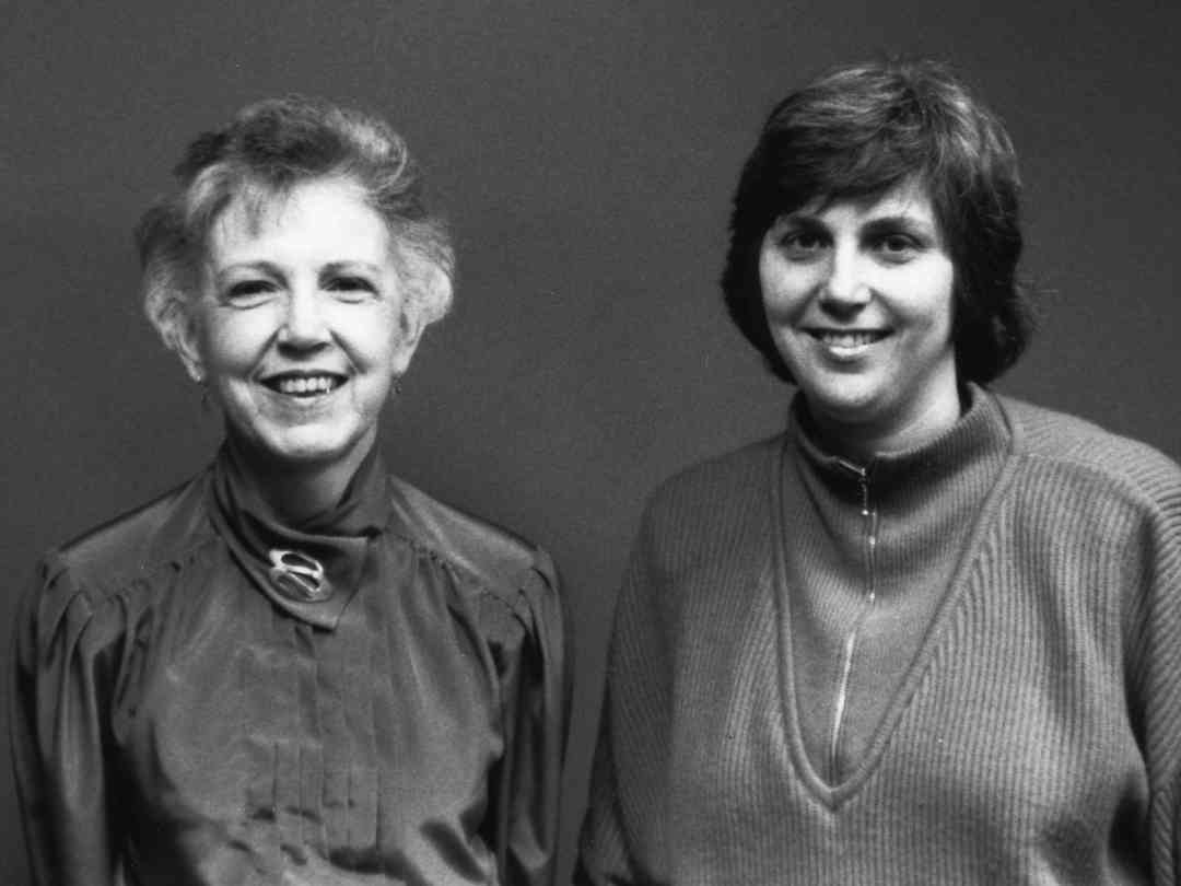 Nell Novak & Gilda Barston