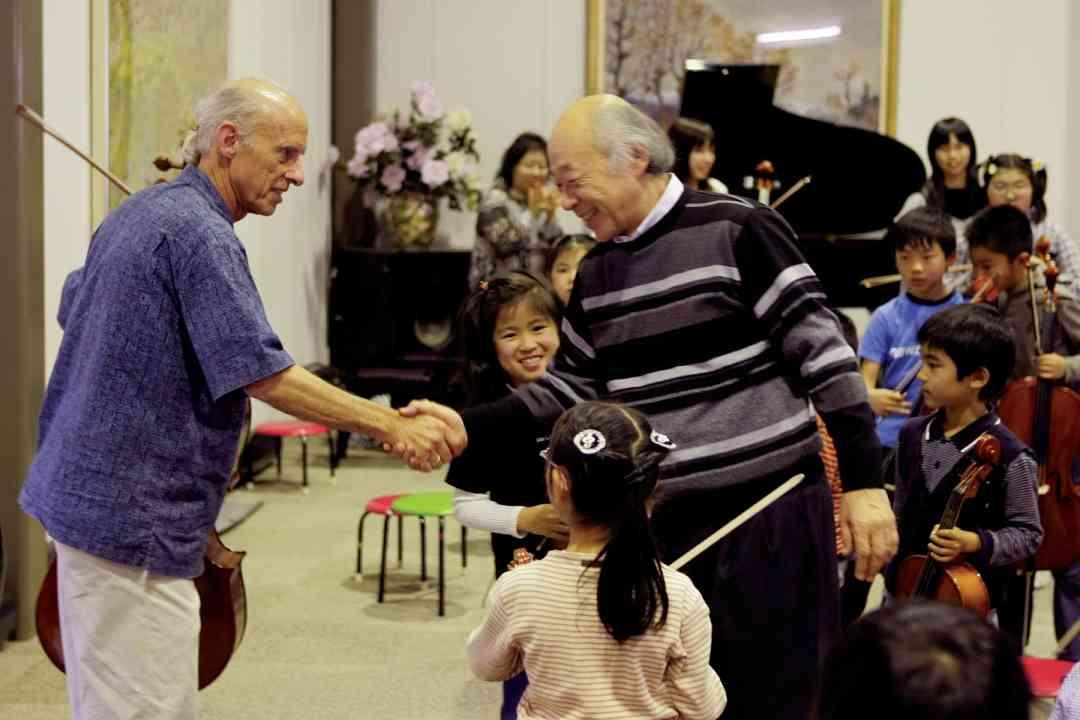 Rodney Farrar at Nagoya Workshop with Akira Nakajima.
